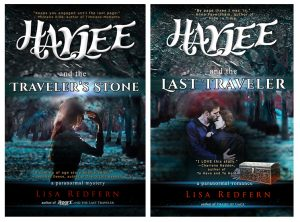 Haylee and the Travelers Stone and Haylee and the Last Traveler book cover art