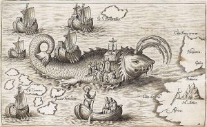 historic Spanish sea monster