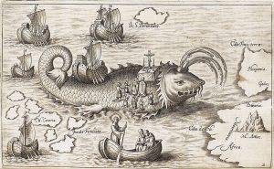 historic Spanish sea monster
